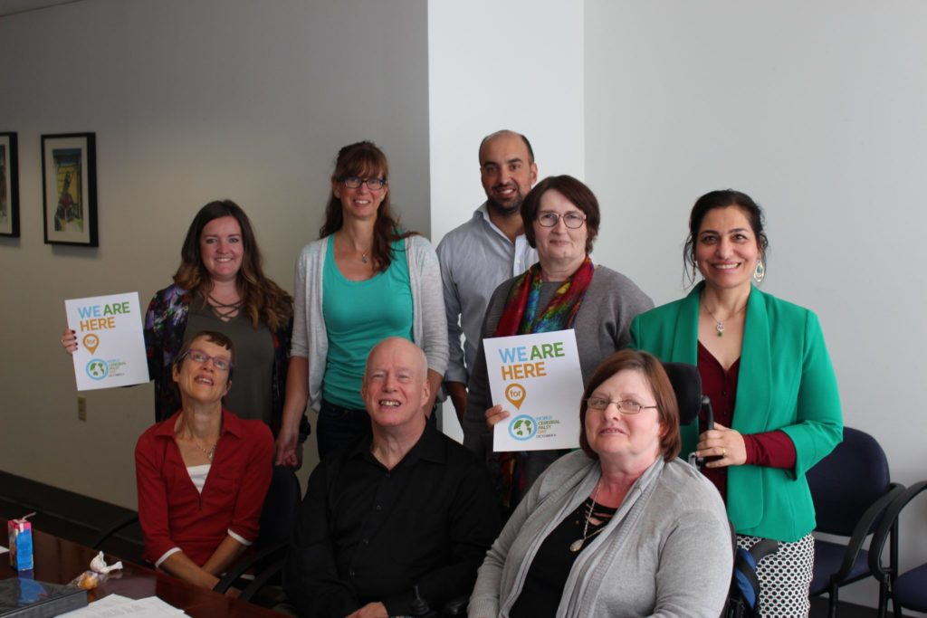 World Cerebral Palsy Day with CPABC staff