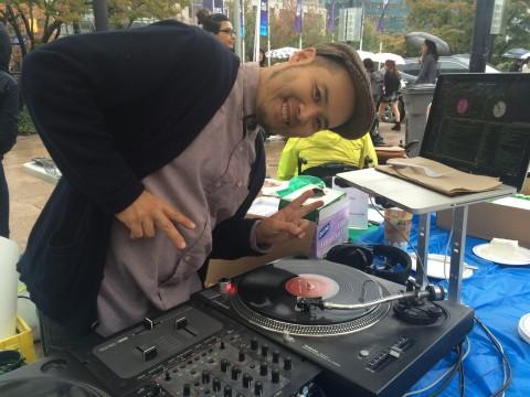 We even had a DJ.