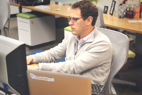 Desk worker