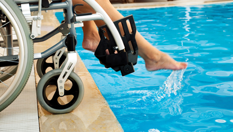 Stepping up with accessible recreational facilities