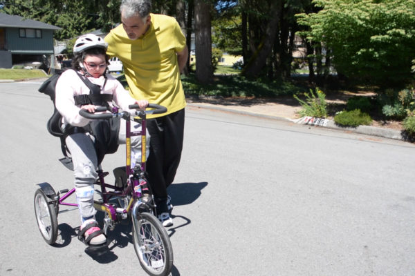 Adapted tricycle provides independence for Eleeka