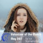 Bringing Style: Ya'ira Somerville is our May Volunteer of the Month