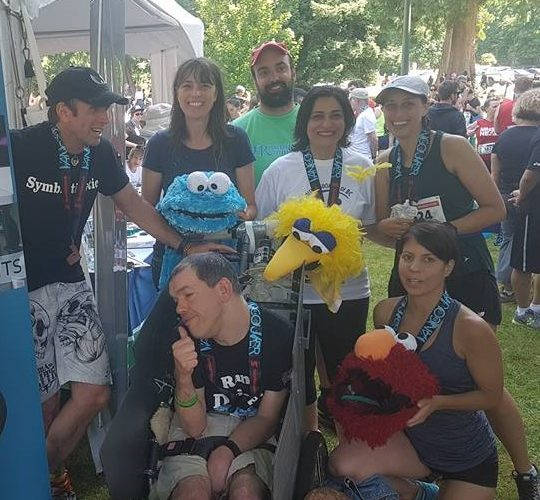 Unofficial world record holders for half-marathon wheelchair tandem team calls for fairness and inclusivity for people with disabilities