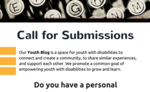 Youth Blog - Call for Submissions! (1)