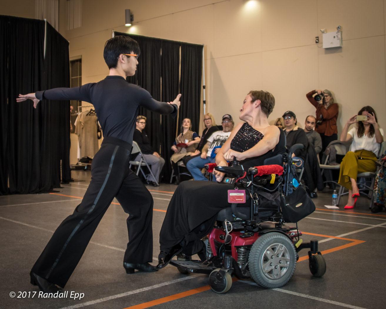 Adapted ballroom dancing