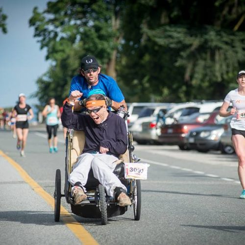 Going for the Guinness: Jason and Rand are world's fastest wheelchair tandem team