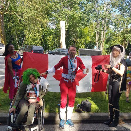 """Wheelchair tandem team's """"super-heroic"""" efforts praised by media"""