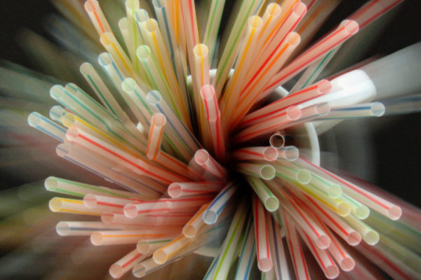 Plastic straws are being banned
