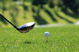Golf club and ball, 8th Annual Charity Golf Tournament