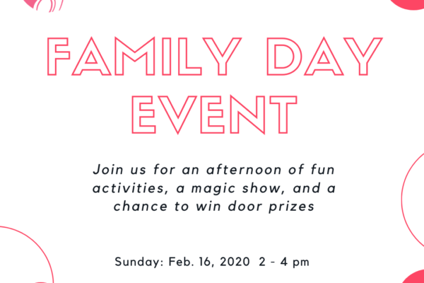 family day event flyer